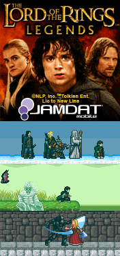 Mobile Game: Lord Of The Rings: Legends (Microjocs & Jamdat)