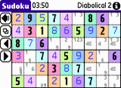 Free mobile Sudoku from Greenstreet software